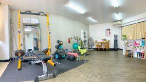 3Fトレーニングスペース(完全個室の2フロア完備)