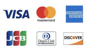 クレジットカード対応可