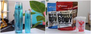 各種サプリメントの取り扱い有(プロテインやビタミン、化粧水など)